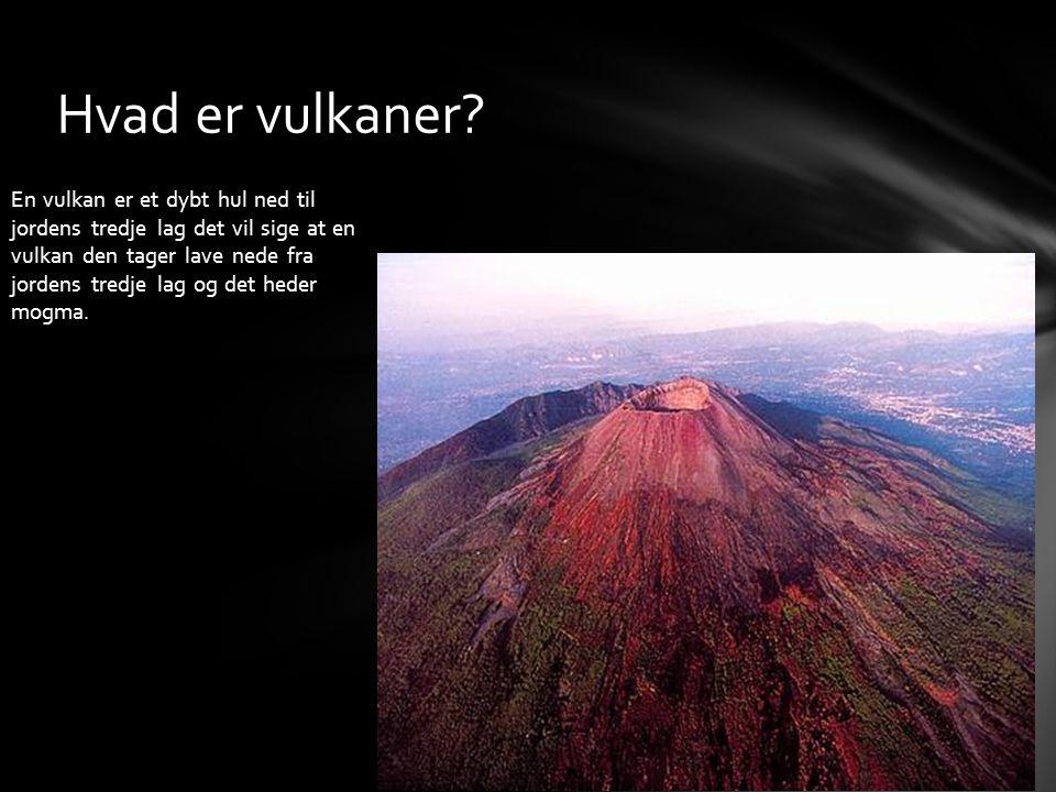 Hvad er vulkaner