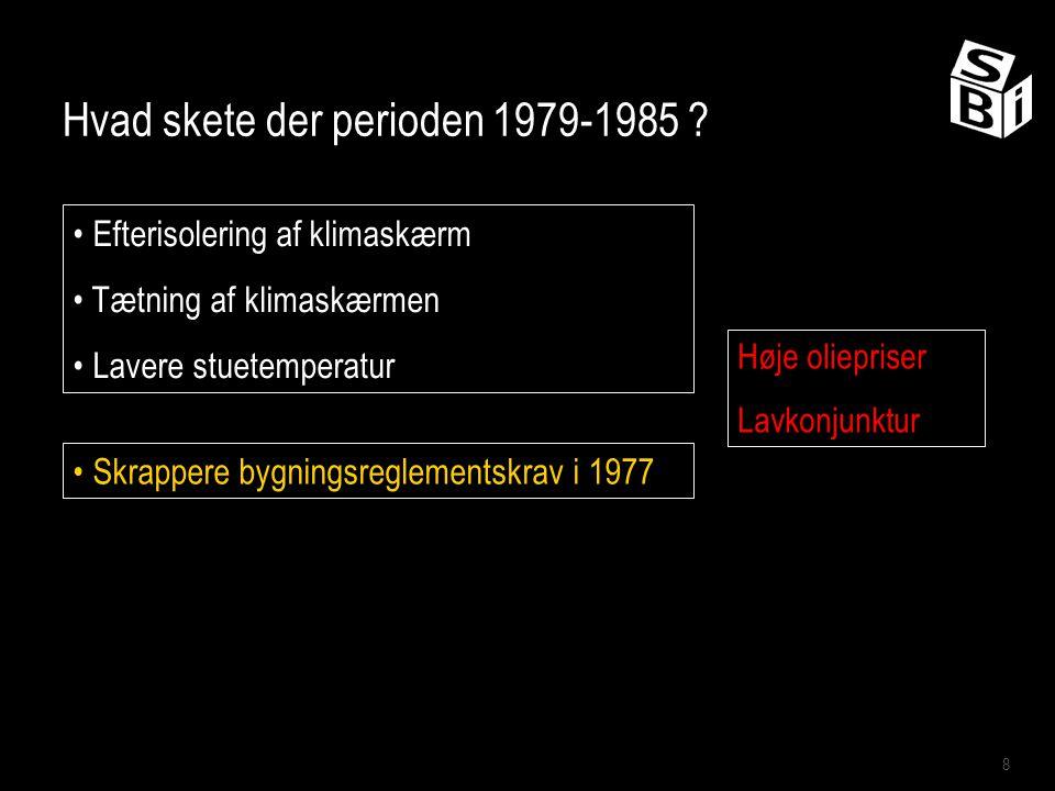 Hvad skete der perioden 1979-1985