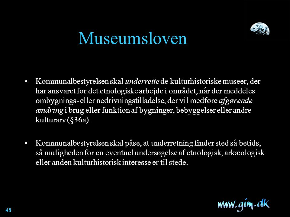 Museumsloven