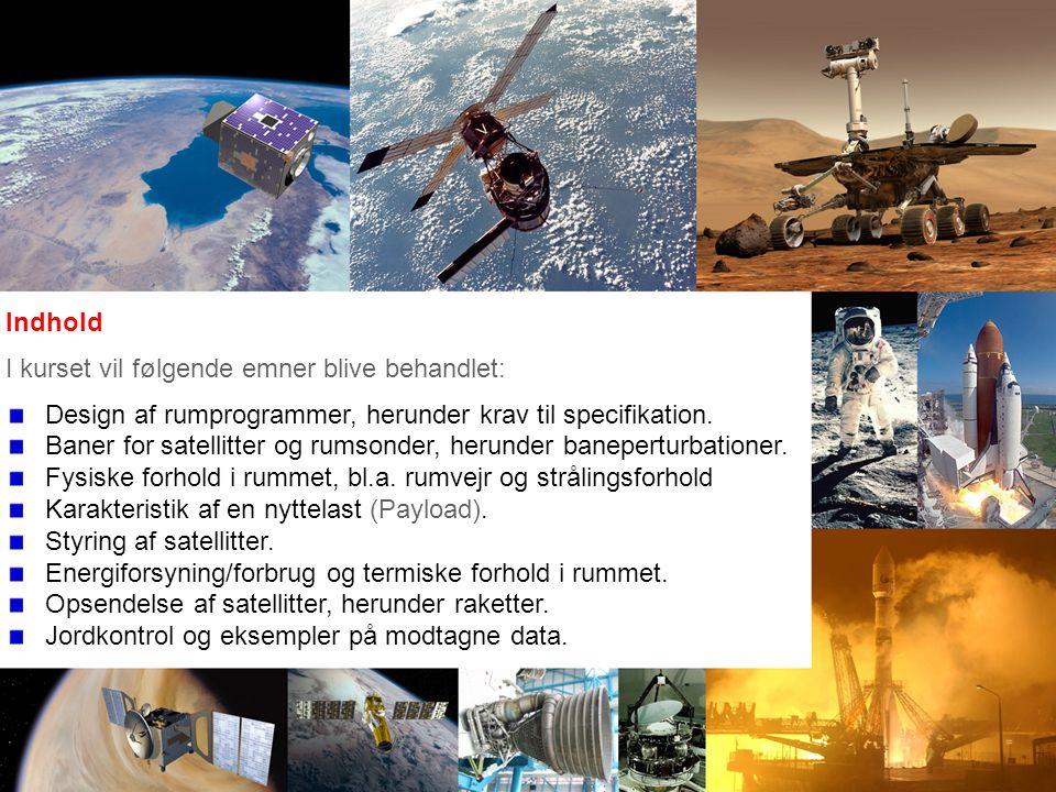 Indhold I kurset vil følgende emner blive behandlet: Design af rumprogrammer, herunder krav til specifikation.