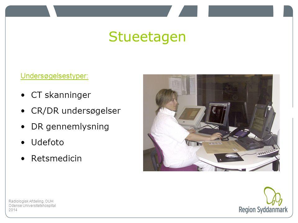 Stueetagen CT skanninger CR/DR undersøgelser DR gennemlysning Udefoto