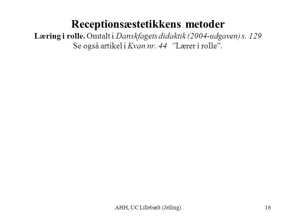 AHH, UC Lillebælt (Jelling)