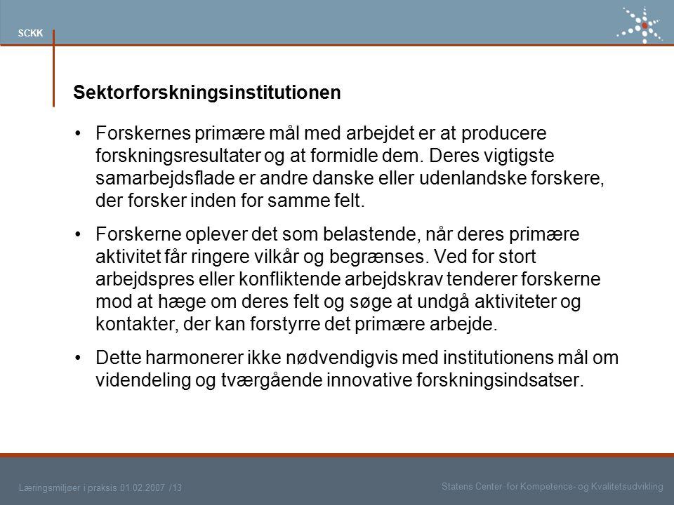 Sektorforskningsinstitutionen