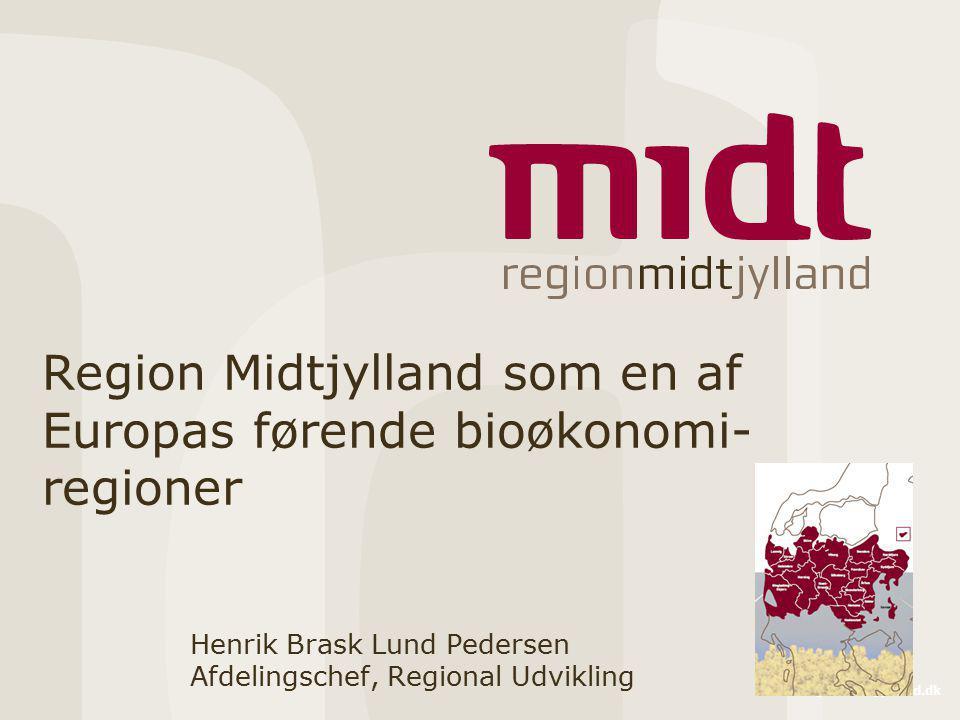 Region Midtjylland som en af Europas førende bioøkonomi-regioner