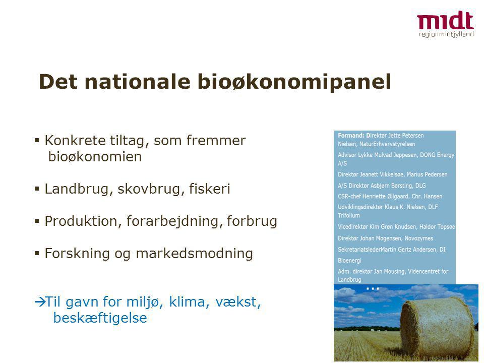 Det nationale bioøkonomipanel