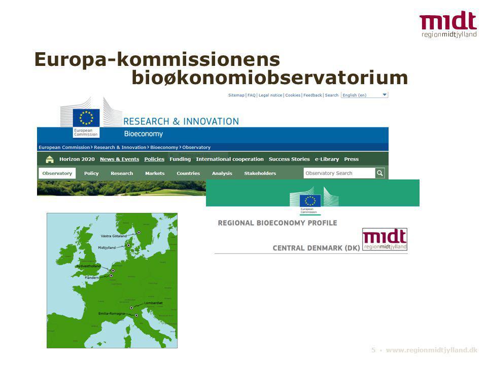 Europa-kommissionens bioøkonomiobservatorium
