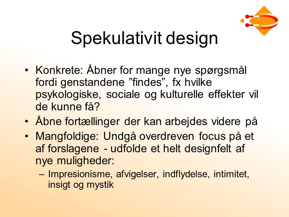 Spekulativit design
