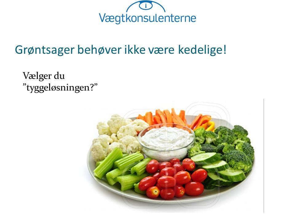 Grøntsager behøver ikke være kedelige!