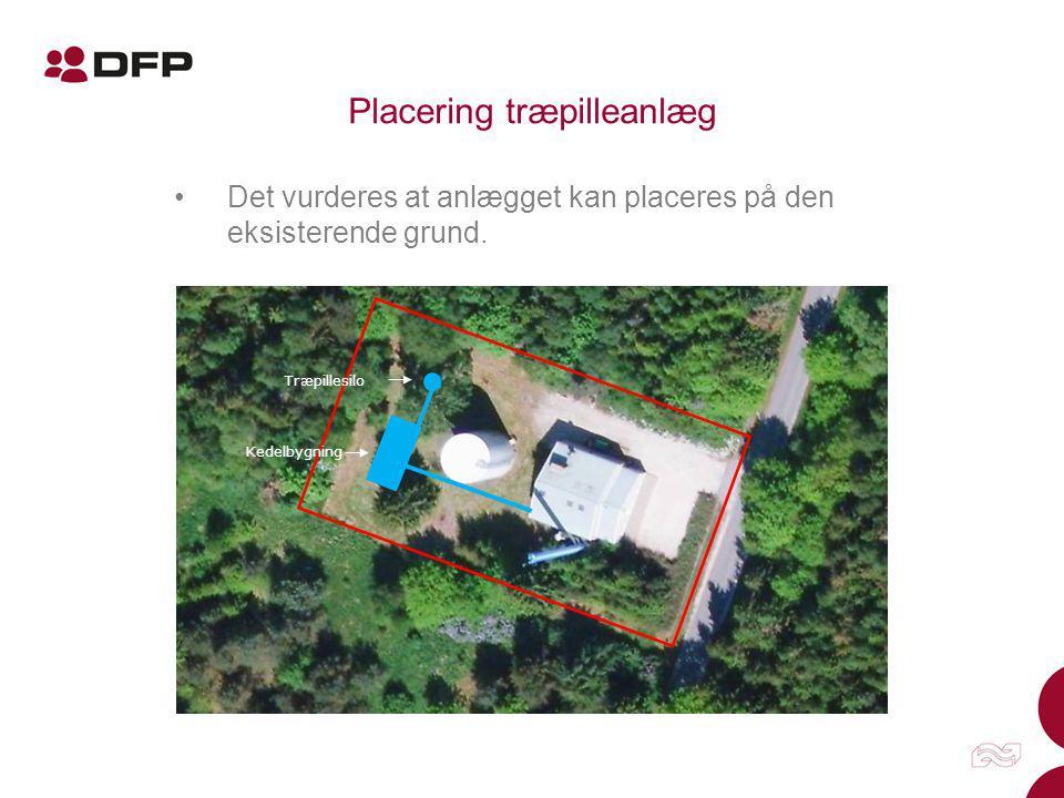 Placering træpilleanlæg