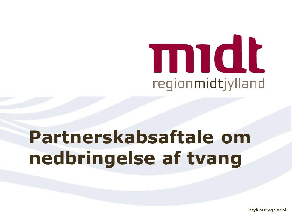 Partnerskabsaftale om nedbringelse af tvang