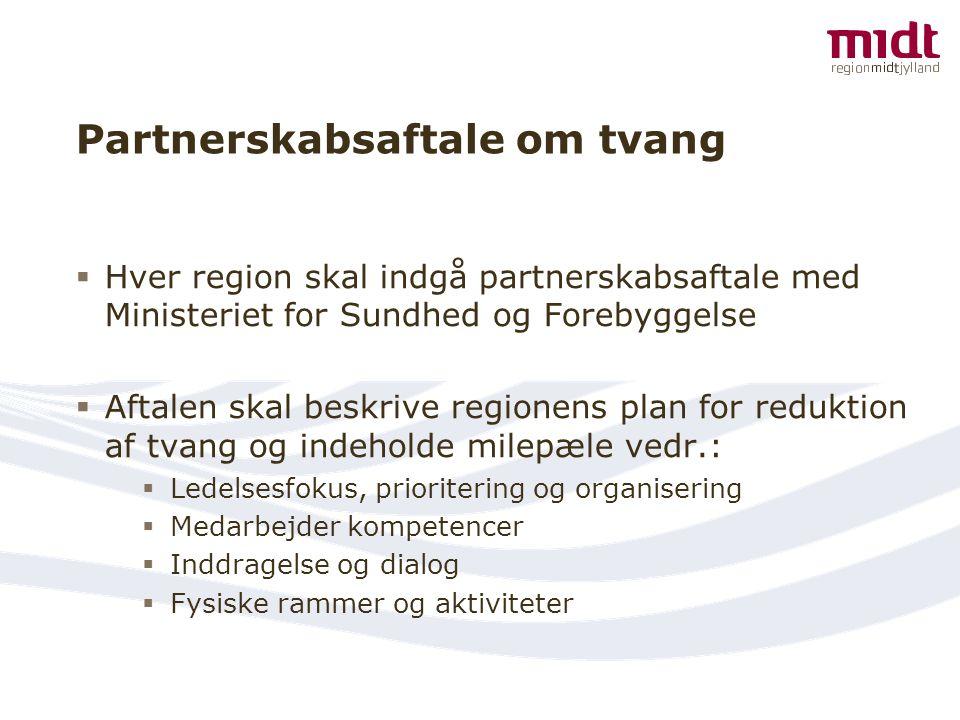 Partnerskabsaftale om tvang