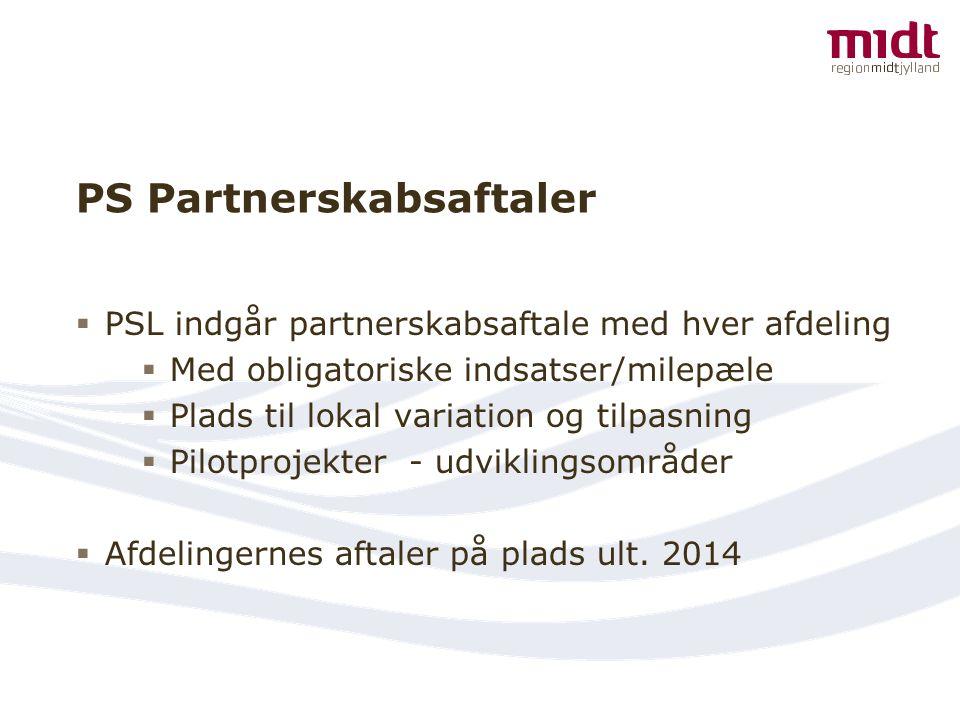 PS Partnerskabsaftaler