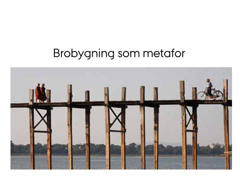Brobygning som metafor