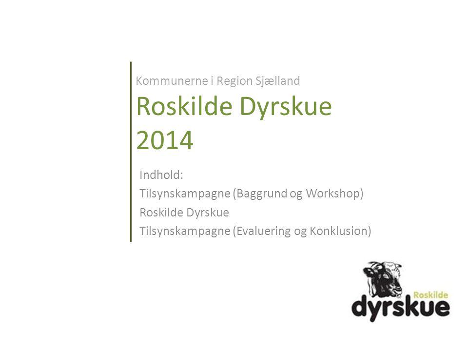 Kommunerne i Region Sjælland Roskilde Dyrskue 2014