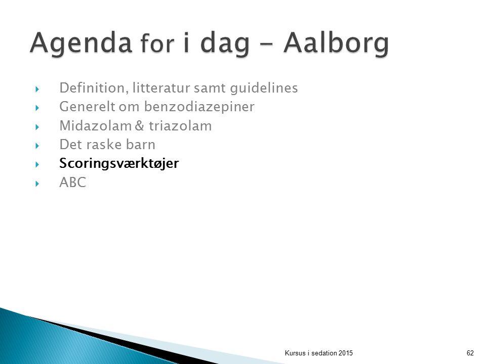 Agenda for i dag - Aalborg