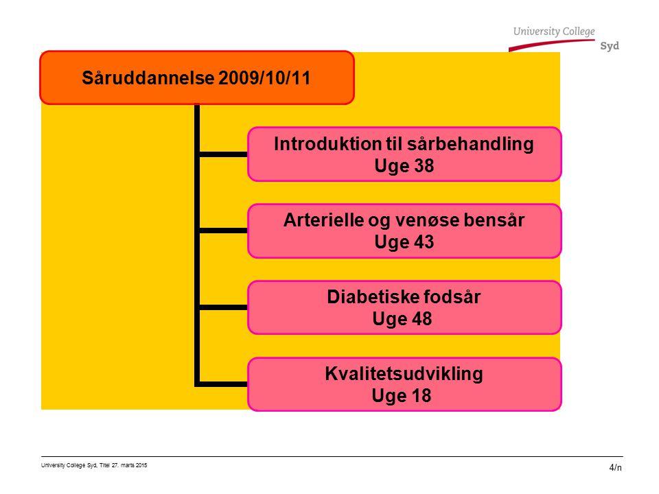 Basisdelen består af fire moduler á fem dages varighed: