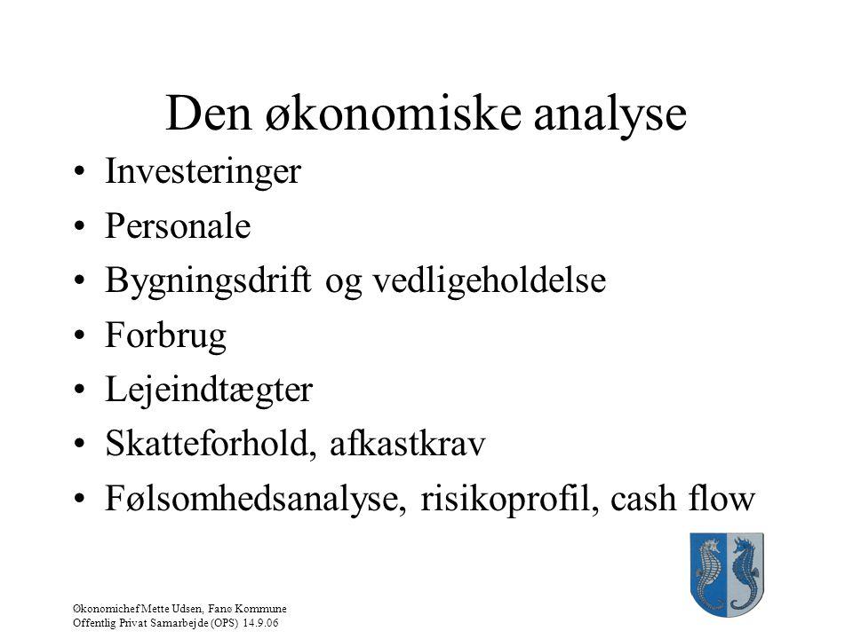 Den økonomiske analyse