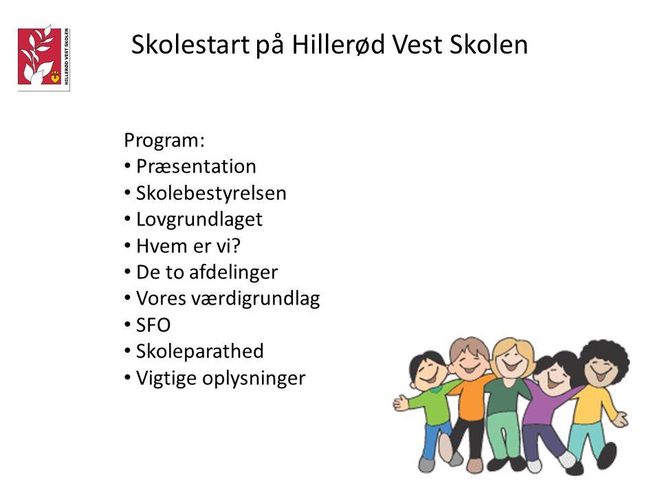 Skolestart på Hillerød Vest Skolen