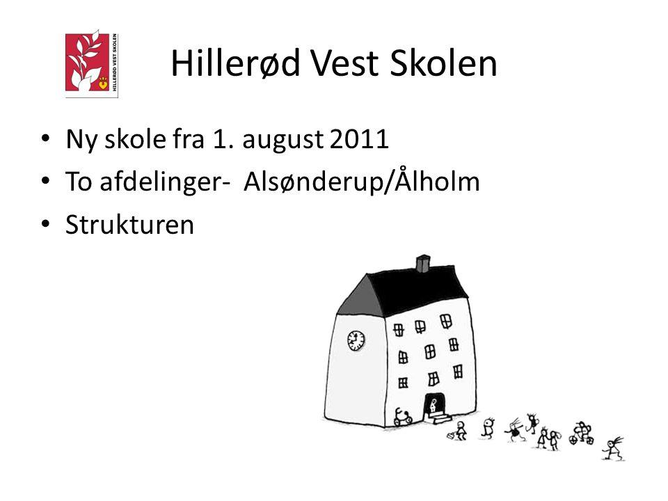 Hillerød Vest Skolen Ny skole fra 1. august 2011