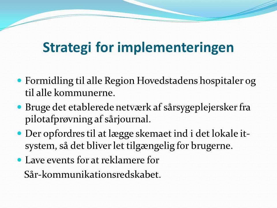 Strategi for implementeringen