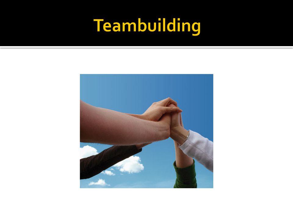 Teambuilding I sidder nu i nye teams. I har ikke selv valgt jeres makkere.