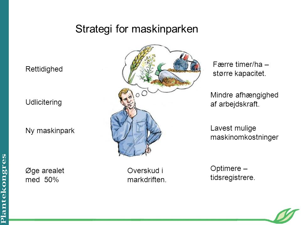 Strategi for maskinparken