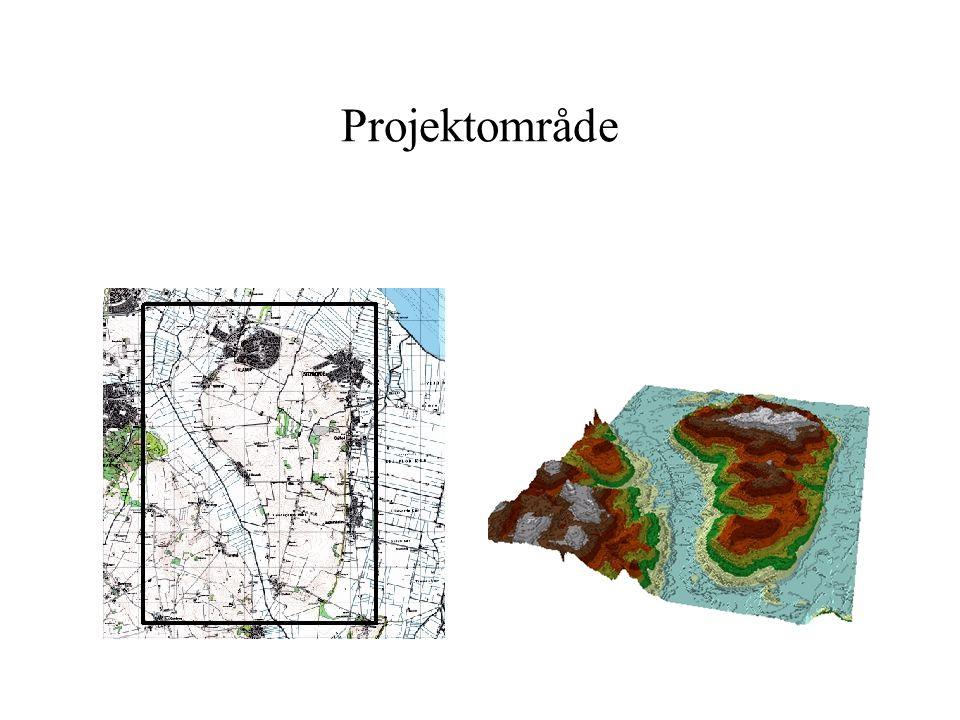 Projektområde