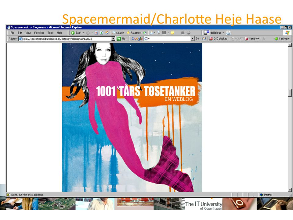 Spacemermaid/Charlotte Heje Haase