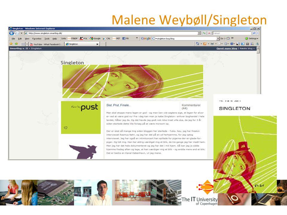 Malene Weybøll/Singleton