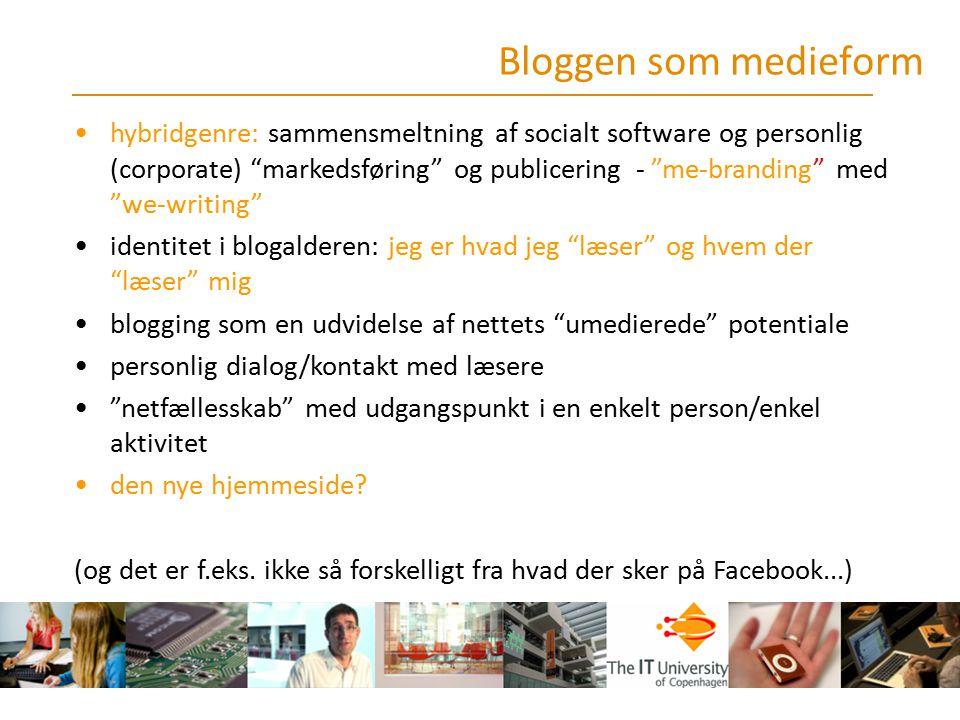 Bloggen som medieform
