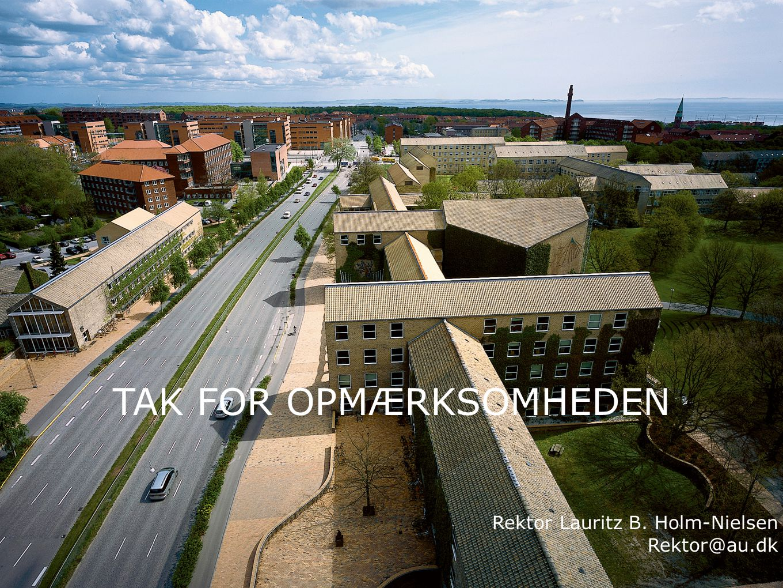 TAK FOR OPMÆRKSOMHEDEN