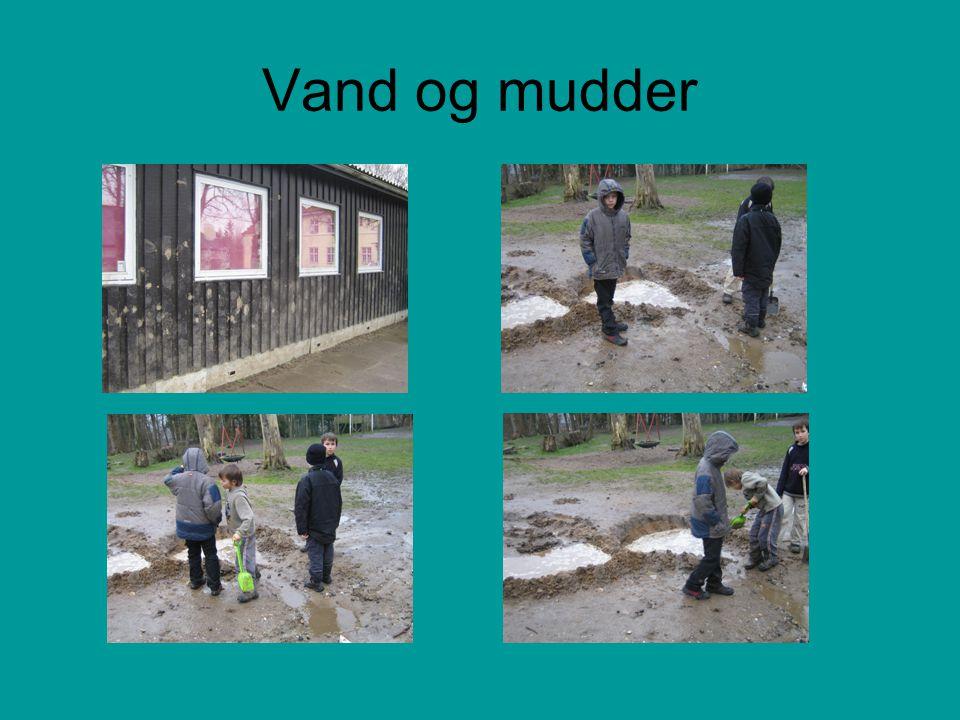 Vand og mudder