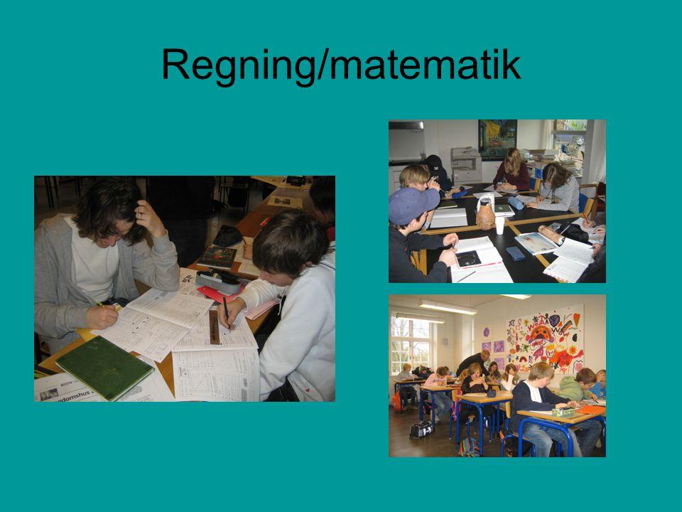 Regning/matematik