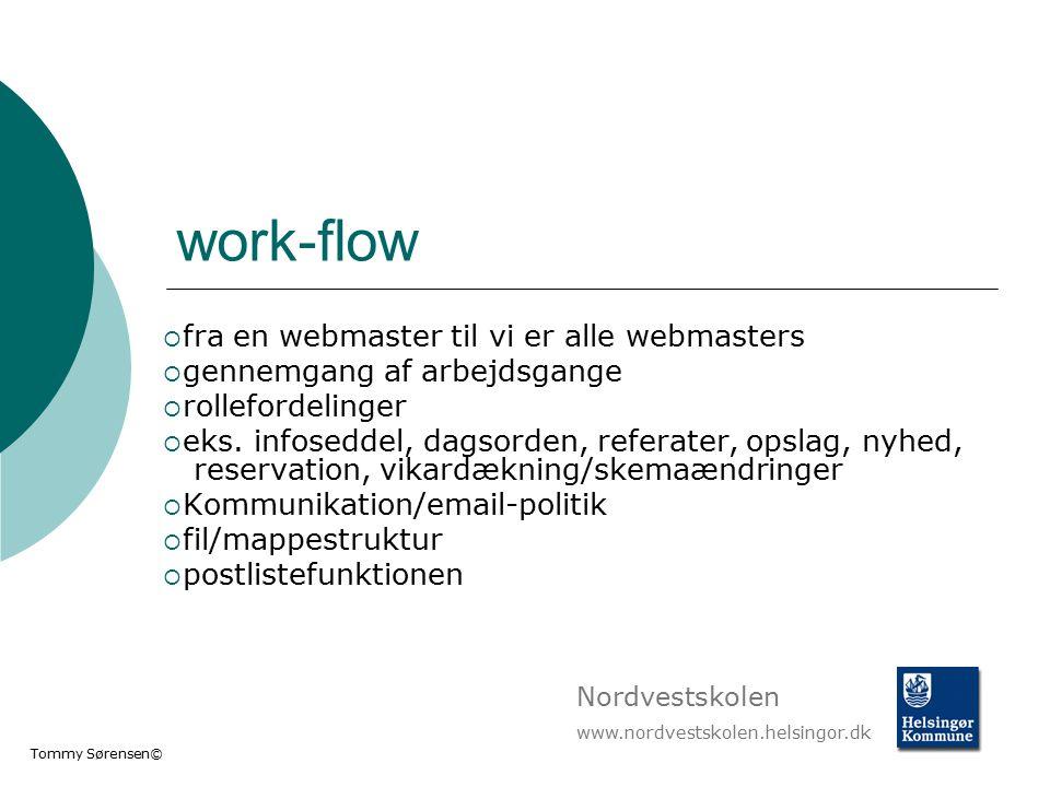 work-flow fra en webmaster til vi er alle webmasters