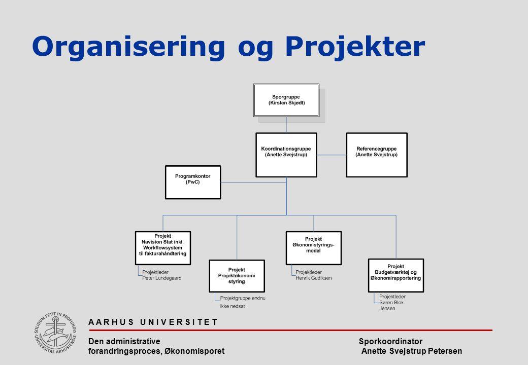 Organisering og Projekter