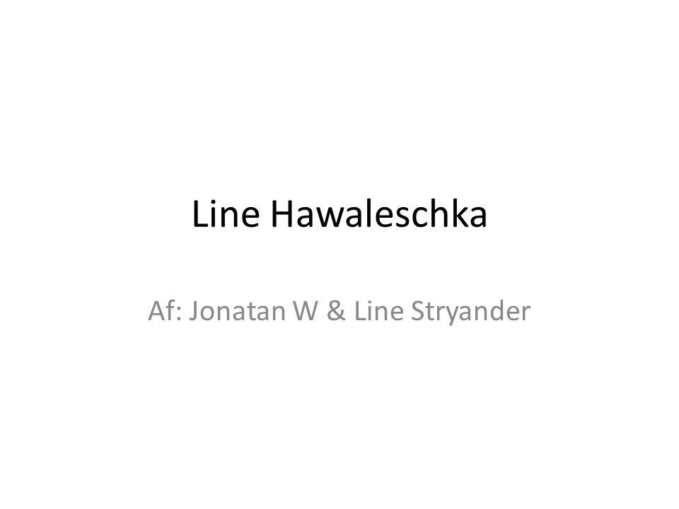 Af: Jonatan W & Line Stryander