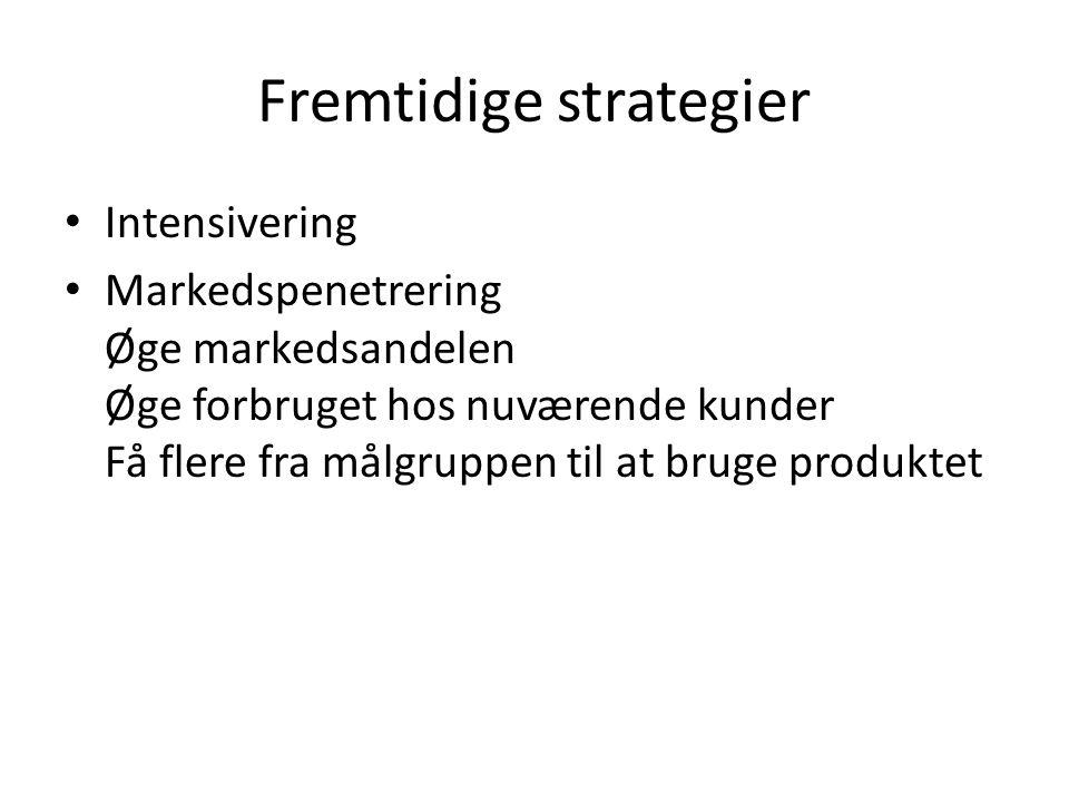 Fremtidige strategier