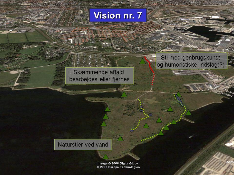 Vision nr. 7 Sti med genbrugskunst og humoristiske indslag( )