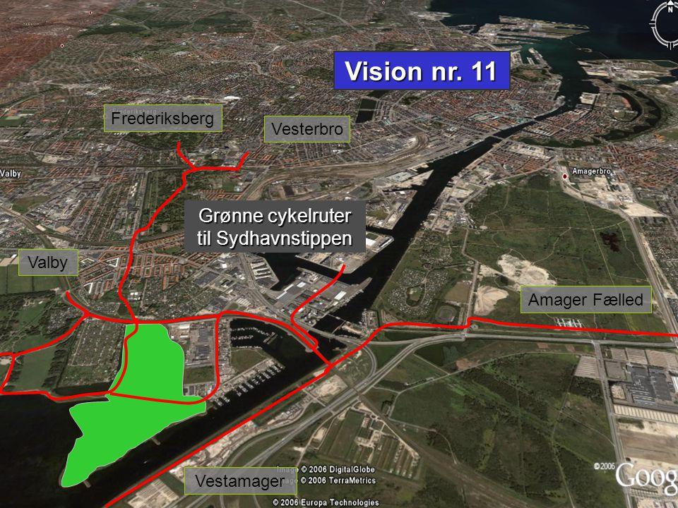 Grønne cykelruter til Sydhavnstippen