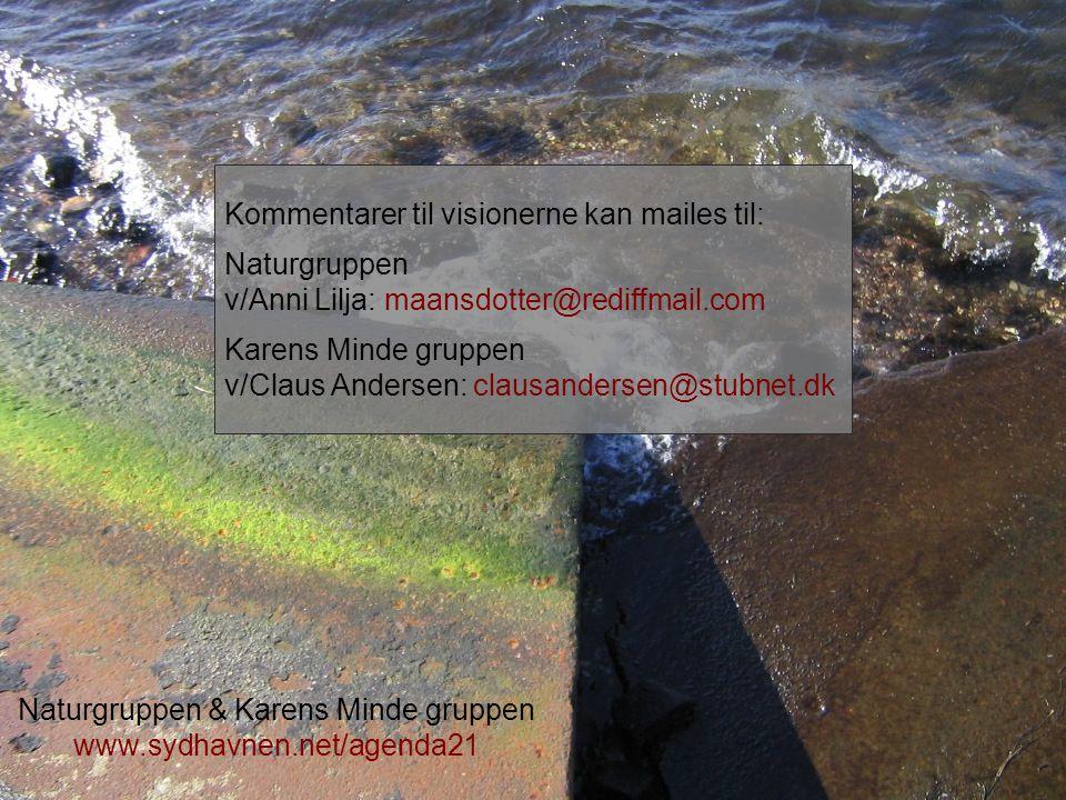 Naturgruppen & Karens Minde gruppen www.sydhavnen.net/agenda21