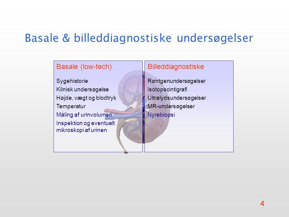 Basale & billeddiagnostiske undersøgelser