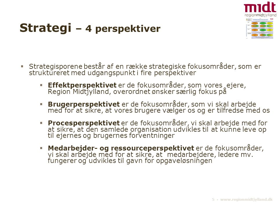 Strategi – 4 perspektiver
