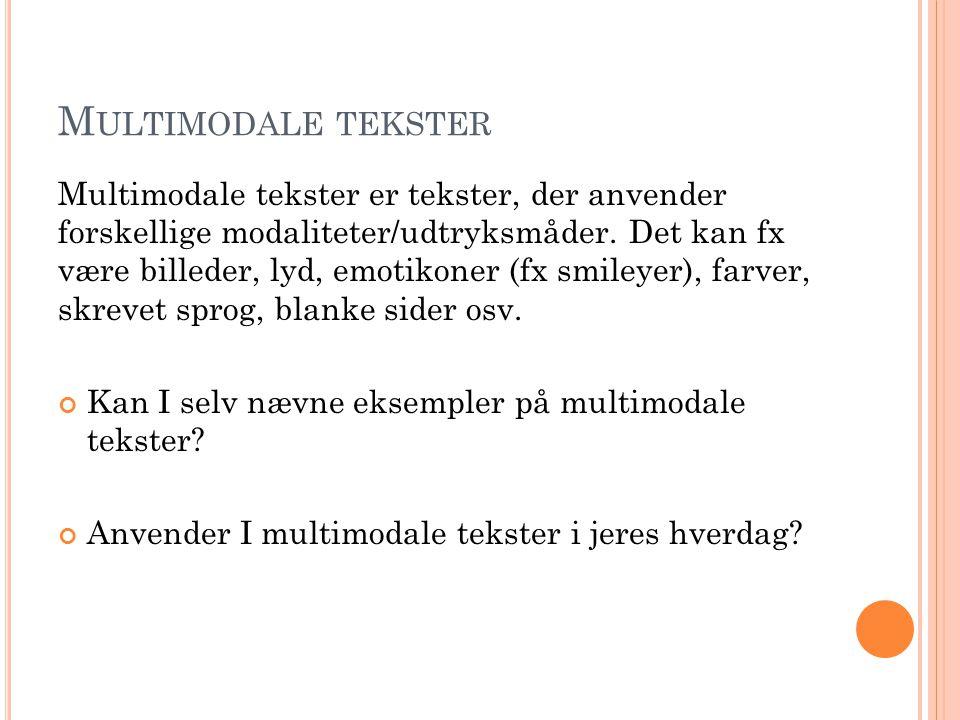 Multimodale tekster