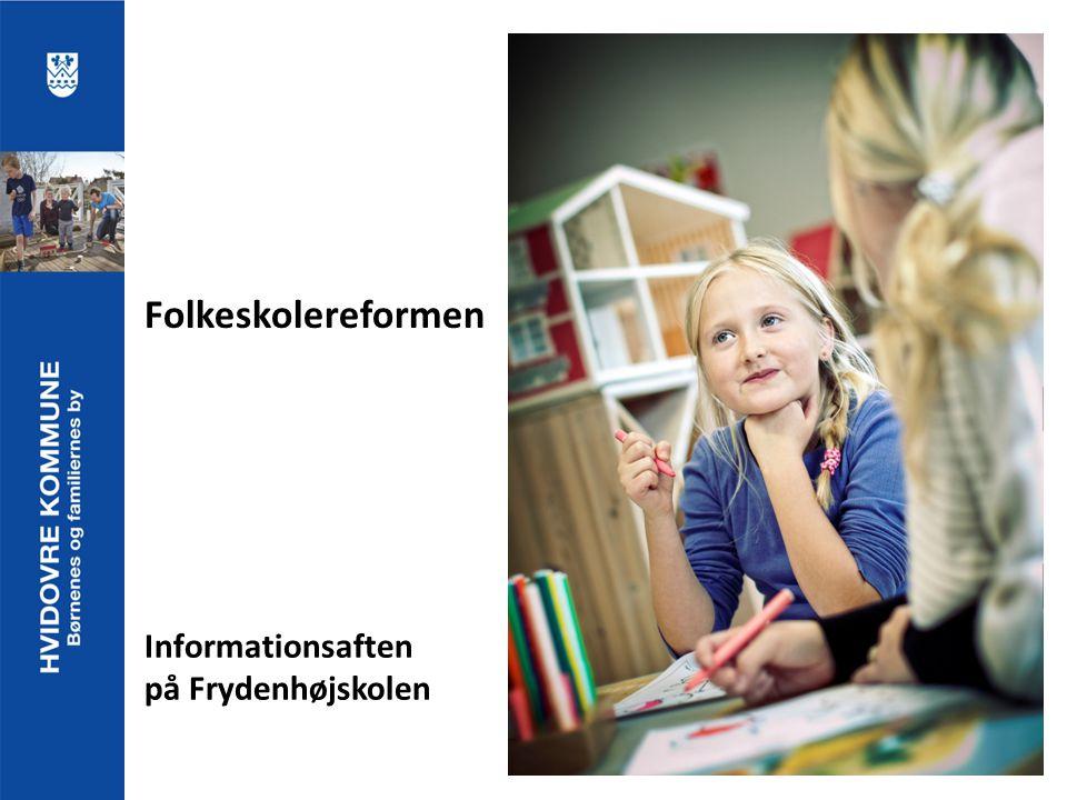 Informationsaften på Frydenhøjskolen