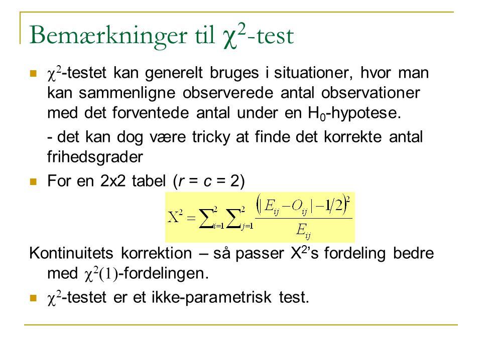 Bemærkninger til c2-test