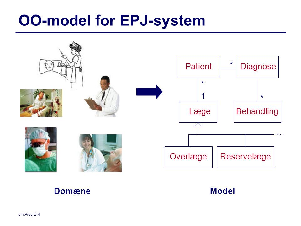 OO-model for EPJ-system