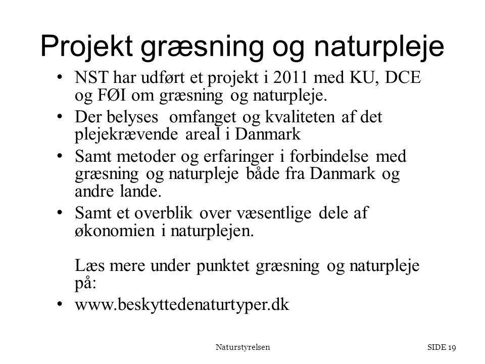 Projekt græsning og naturpleje