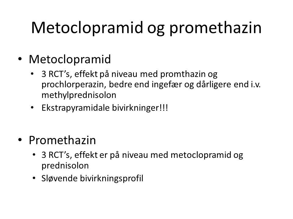 Metoclopramid og promethazin