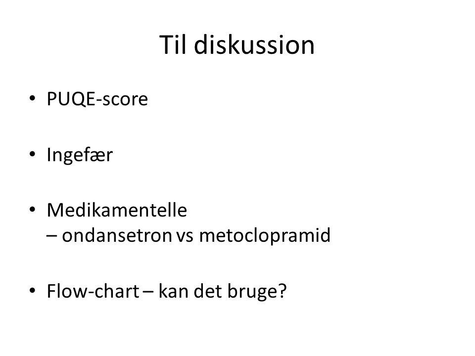 Til diskussion PUQE-score Ingefær