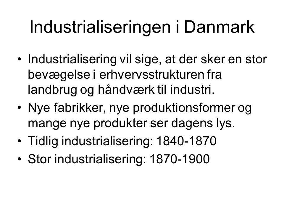 Industrialiseringen i Danmark
